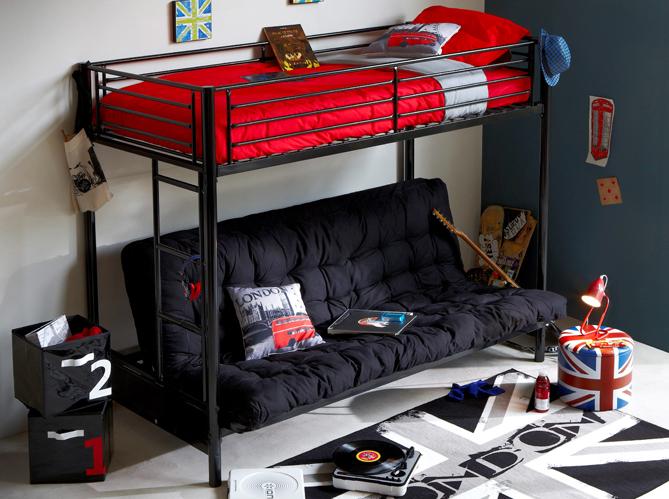 Idee Deco Salon Moderne Gris : chaque ado sa déco de chambre!  Elle Décoration