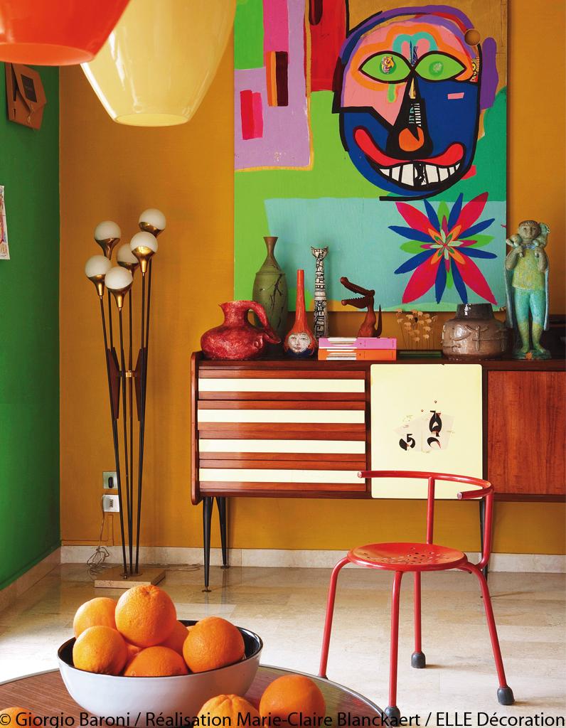 Palette de couleur elle d coration for Tableau couleur flashy