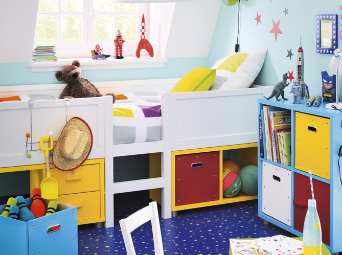 des lits modulables pour les enfants elle d coration. Black Bedroom Furniture Sets. Home Design Ideas