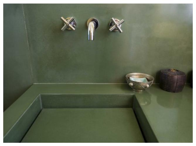 Le b ton en d coration c est tendance elle d coration for Ou est la salle de bain