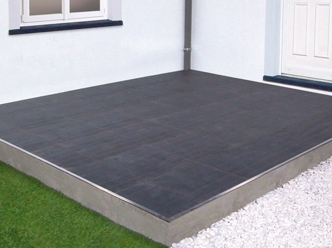 Carreler une terrasse elle d coration for Pose quart de rond carrelage