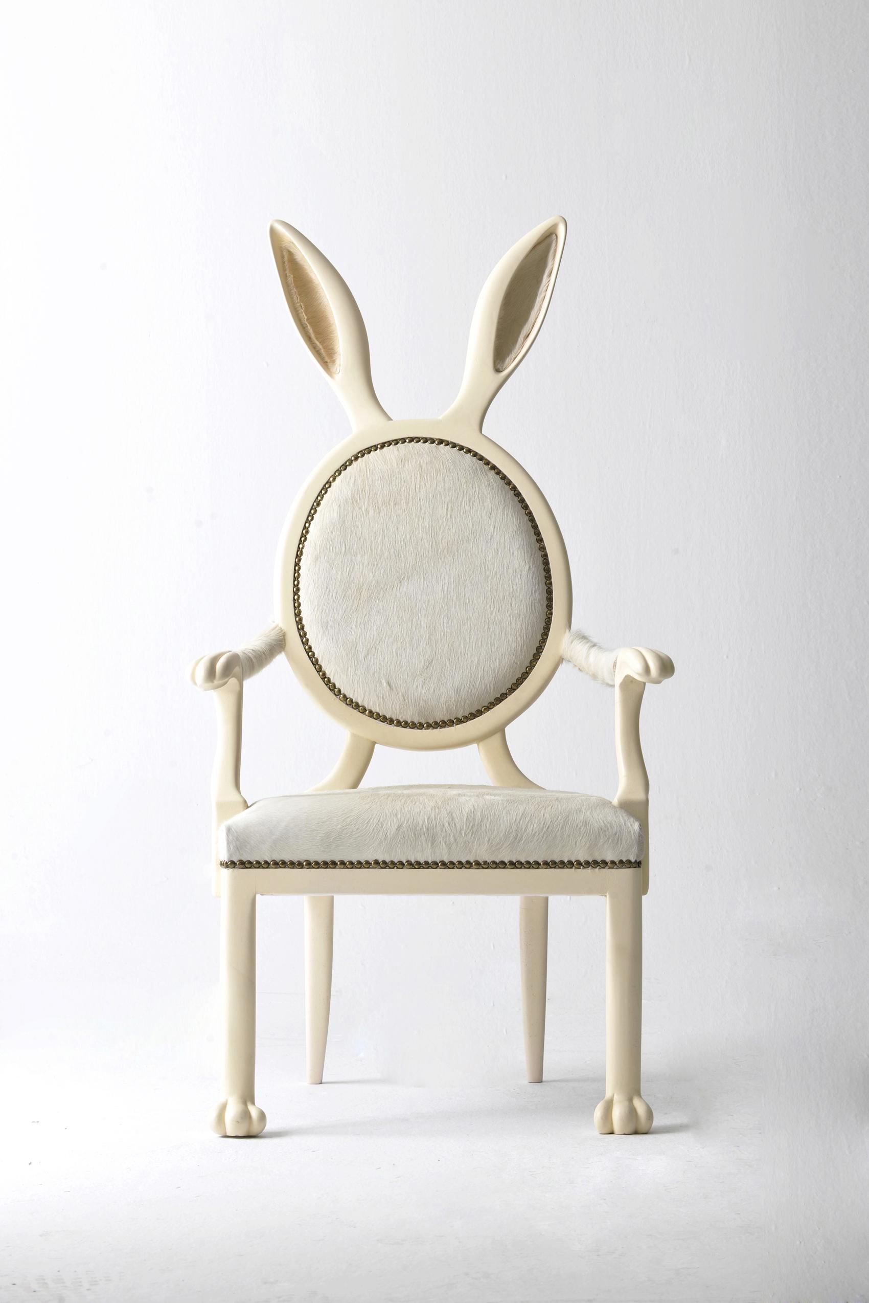 Tendance le coup du lapin elle d coration - Fauteuil avec oreilles ...