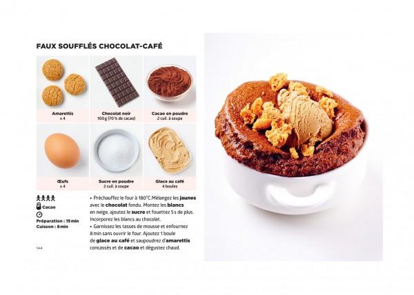 Faux souffles chocolat cafe Simplissime Desserts Jean Francois Mallet