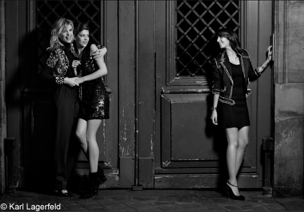 HollySiz-Céline-Sallette-Géraldine-Nakache-par-Karl-Lagerfeld