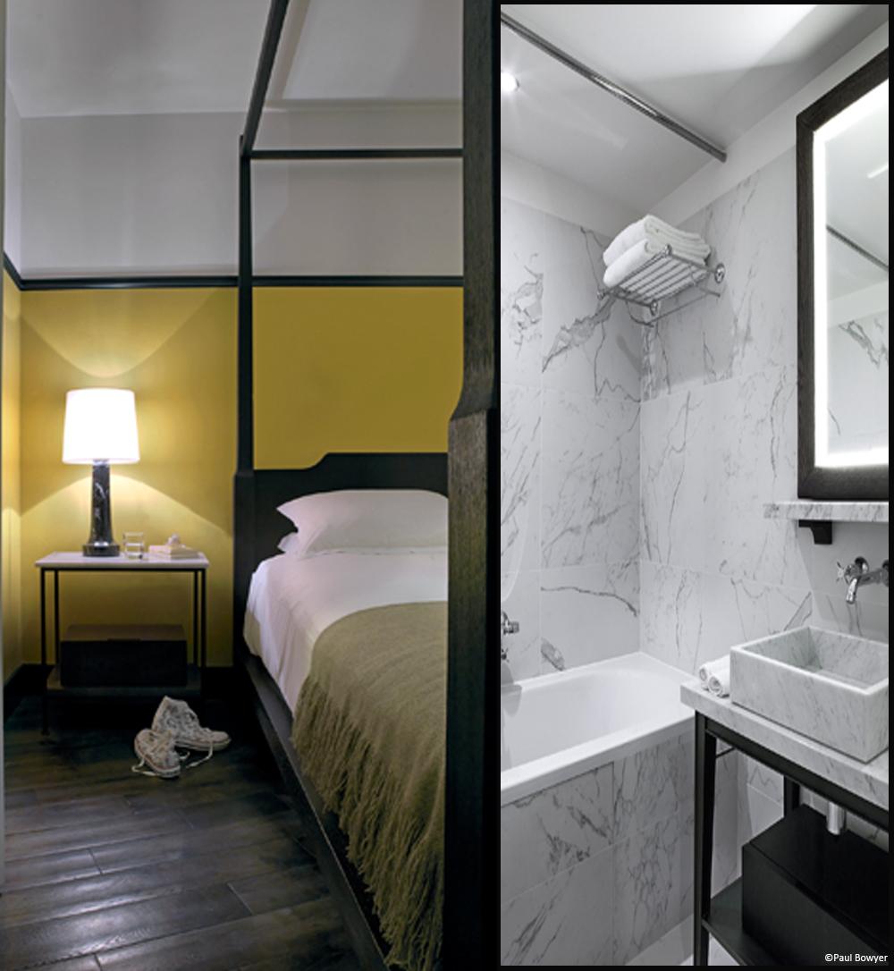 D couvrez 11 adresses parisiennes branch es elle d coration for Hotel des bains paris 14