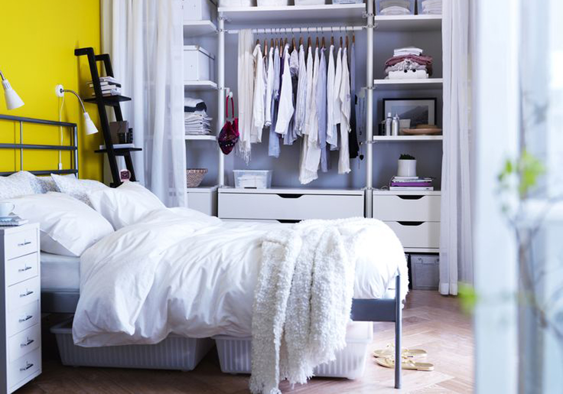 5 astuces pour optimiser l espace sous le lit elle d coration. Black Bedroom Furniture Sets. Home Design Ideas