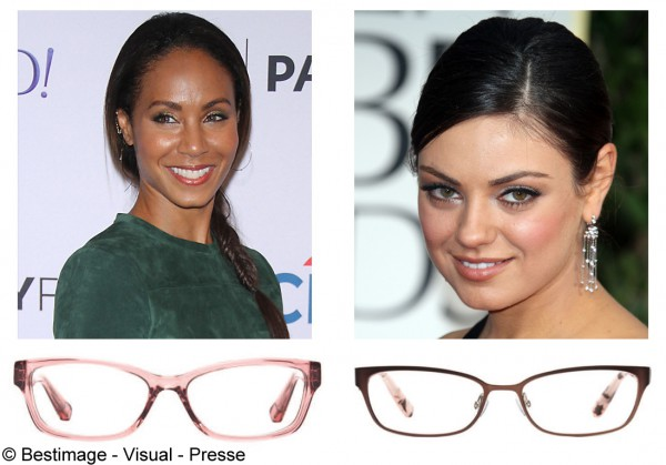 Maquillage yeux lunettes  quel maquillage des yeux avec mes lunettes