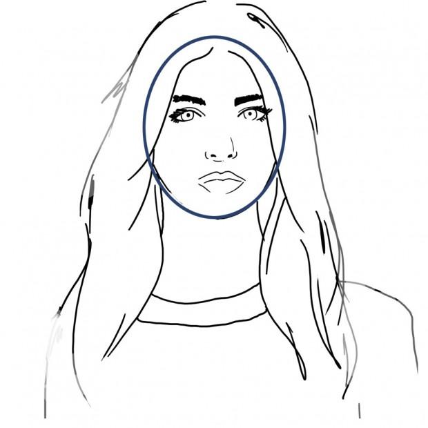 Coiffure visage ovale quelle coupe de cheveux visage ovale choisir elle - Quelle coupe pour un visage ovale ...