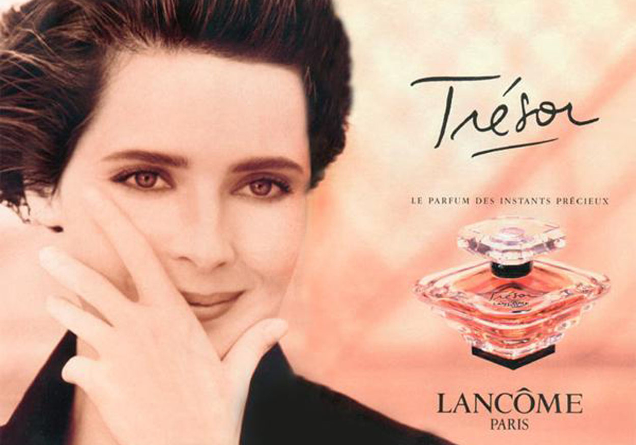 Isabella Rossellini Trésor Lancôme