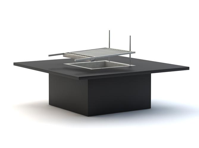 Table basse avec ordinateur integre for Table basse avec pouf integre