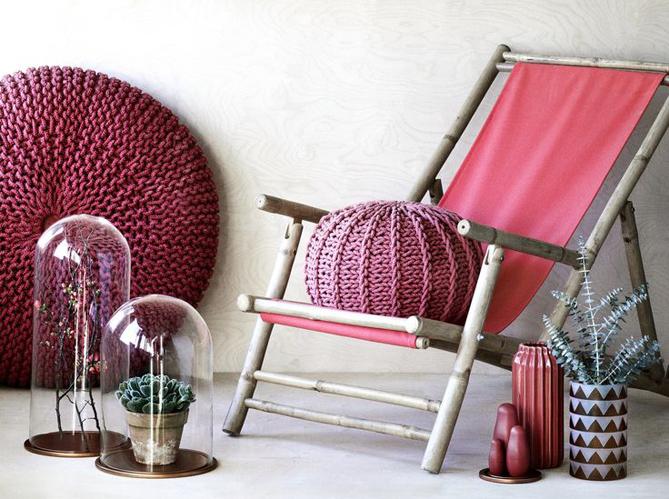 Marsala couleur de l 39 annee 2015 pantone elle d coration for Objet deco couleur