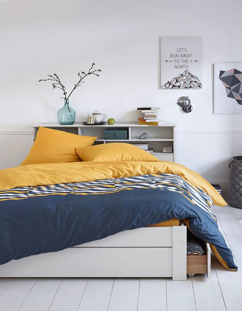 5 astuces pour optimiser l espace sous le lit. Black Bedroom Furniture Sets. Home Design Ideas