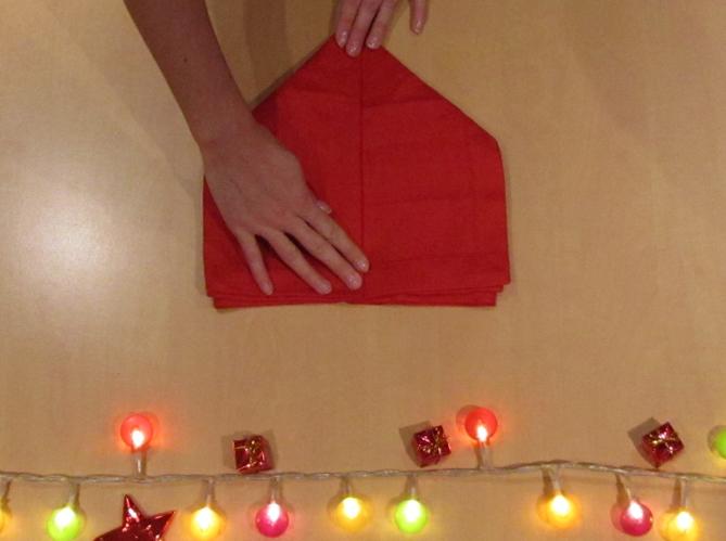 Le plus romantique plier sa serviette en coeur image