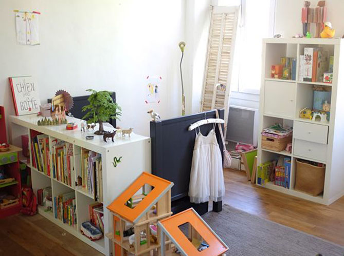 Le on de d co comment am nager une chambre partag e par for Photo de chambre enfant