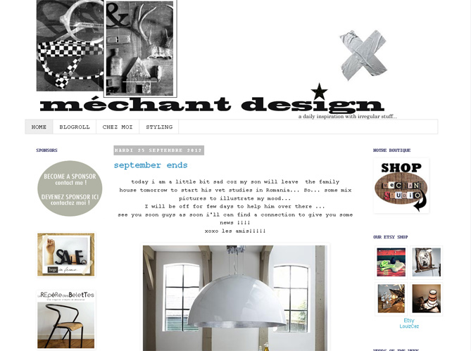 Les blogs fans de design image