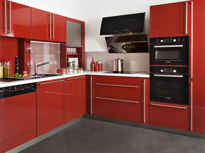 Credence brique rouge trendy awesome cuisine couleur for Credence brique rouge