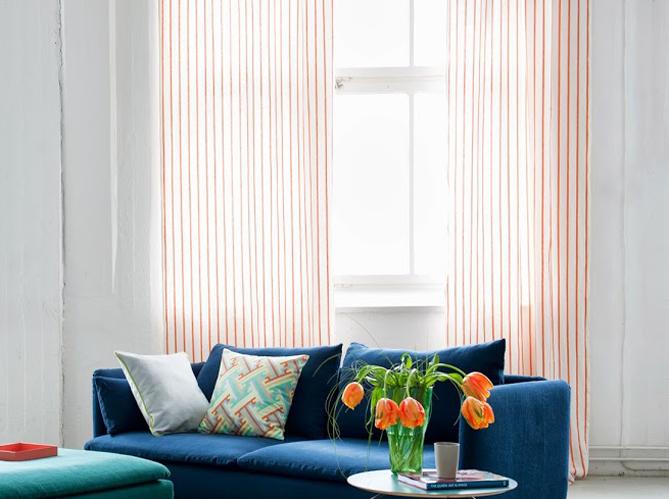 Les textiles style scandinave image