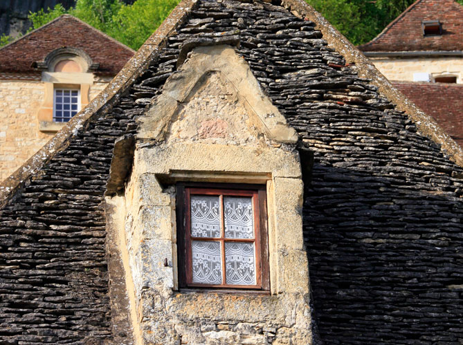 Les toits en lauze image