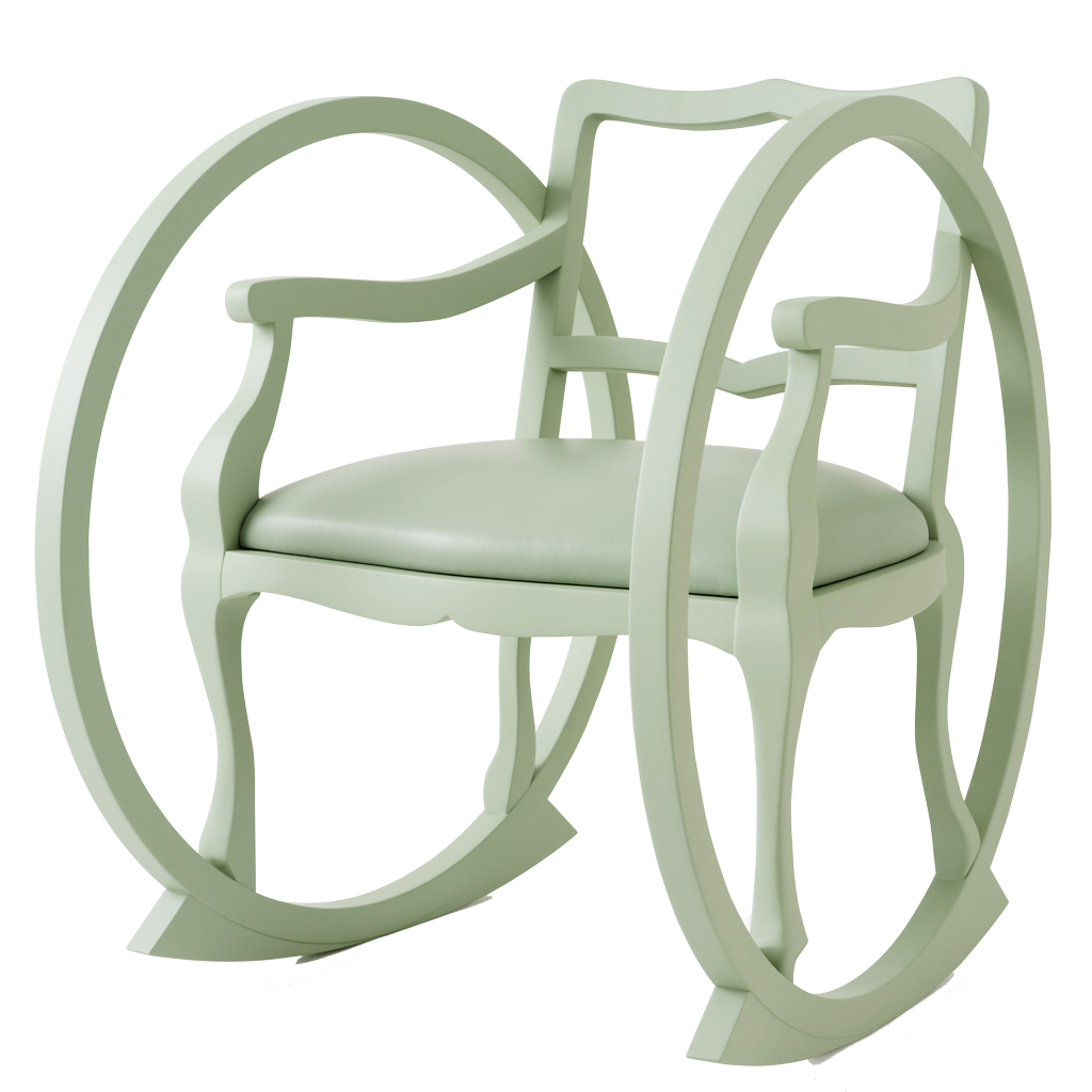 Maison Dada Ticking Clock celadon