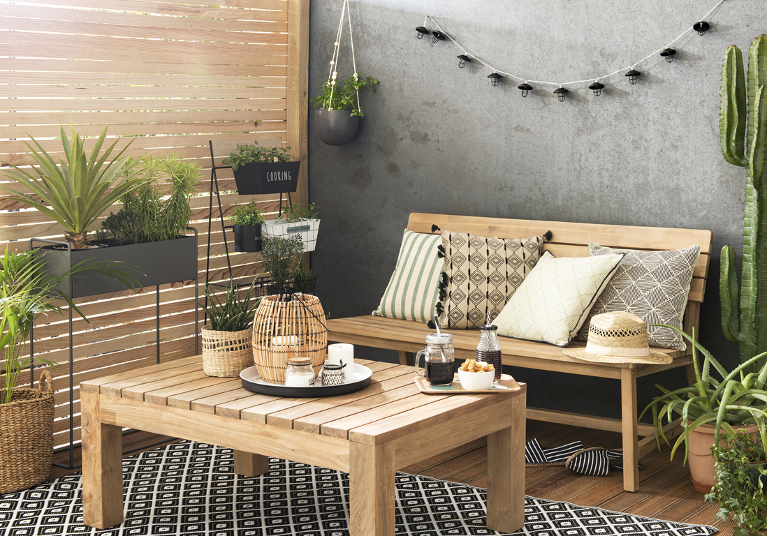 5 tendances faciles adopter pour une terrasse look e cet for Maison du monde sete