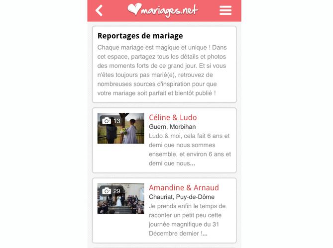 Mariages.net pour la gestion totale image