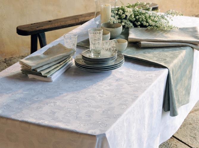 Le retour de la toile cir e et de la nappe enduite - Nappe de table rectangulaire grande taille ...