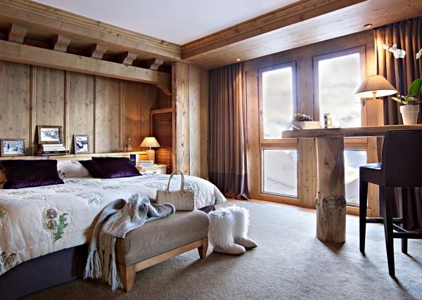 OkSuite de l'Ourson Chalet d'alpage - Ourson Bear Cub Suite_Barmes de l'Ours