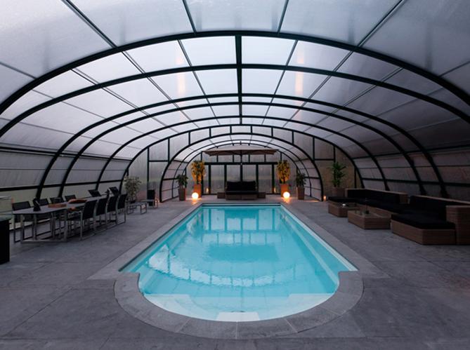 Option 1 l abri de piscine haut image