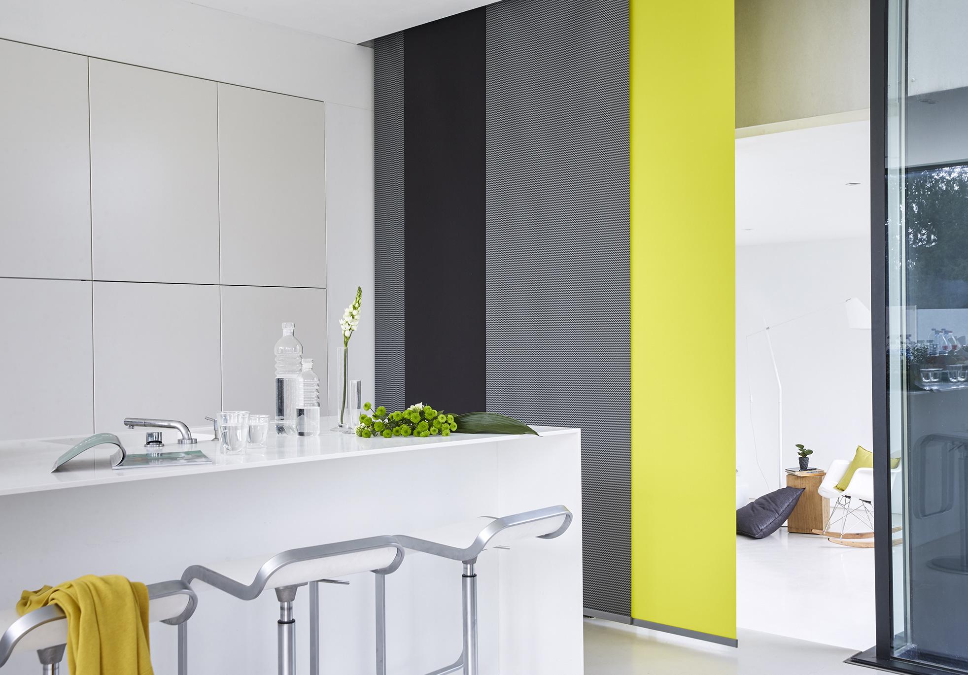 astuces d limiter une pi ce avec des panneaux japonais. Black Bedroom Furniture Sets. Home Design Ideas