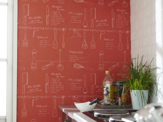 Papier Peint Leroy Merlin Cuisine - Idées De Design - Suezl.Com
