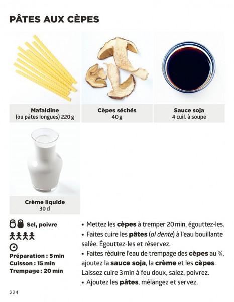 Pates aux cepes recette Simplissime pates Jean Francois Mallet
