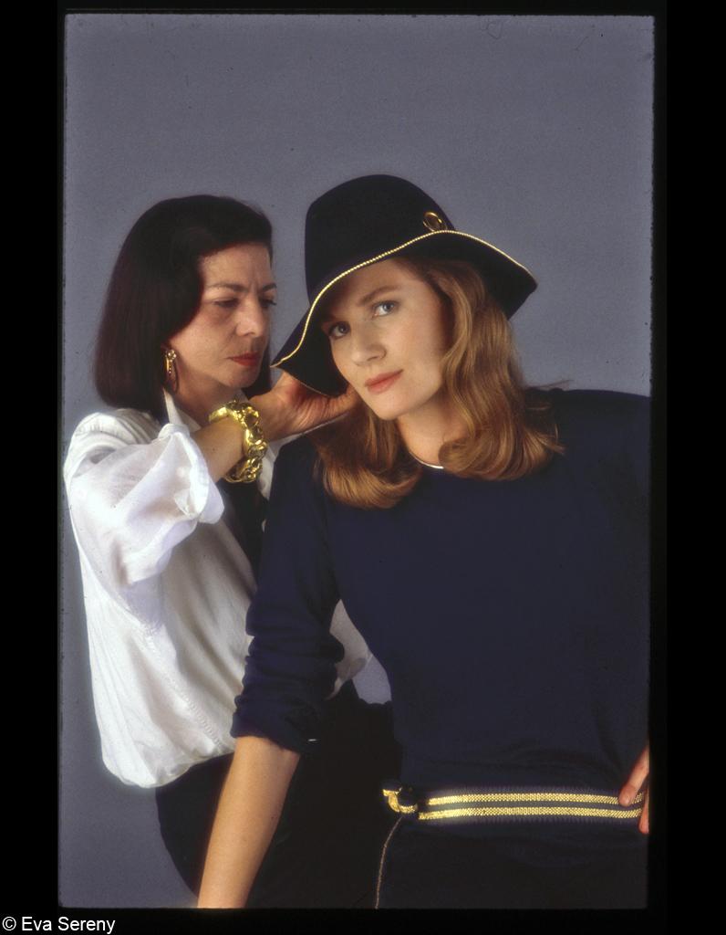 Peggy Roche et Dominique Sanda en 1984