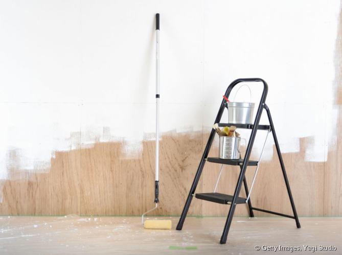 Peindre un mur elle d coration - Conseil pour peindre un mur ...