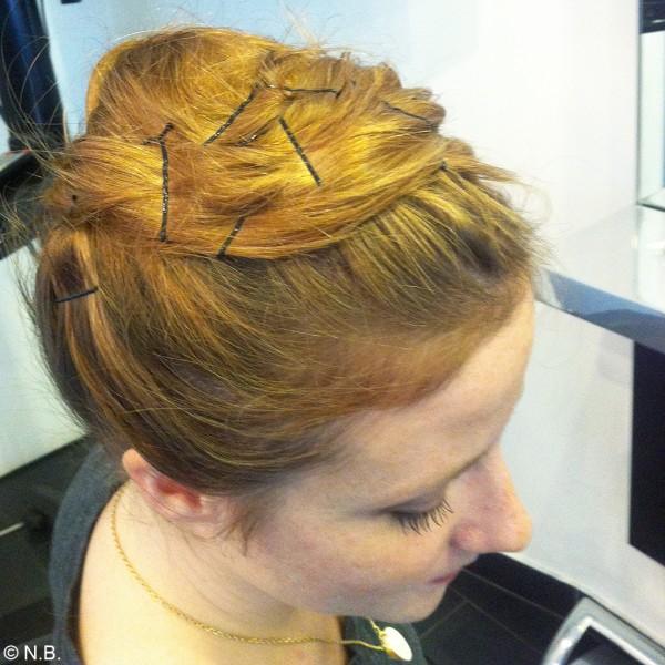 Leffet pour les cheveux du masque de moutarde