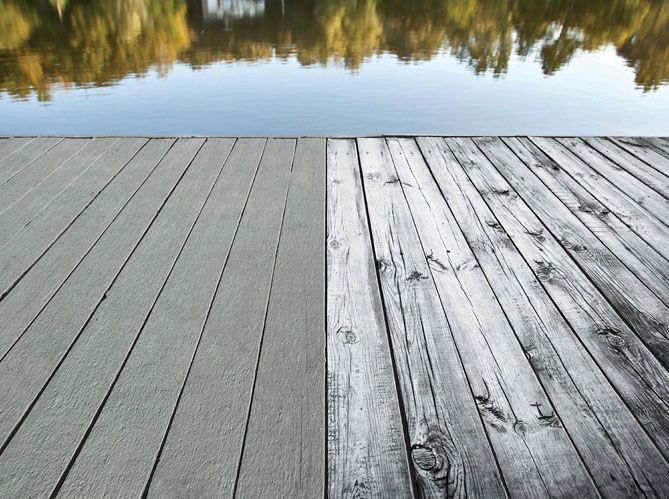 peinture terrasse bois gris diverses id es de conception de patio en bois pour. Black Bedroom Furniture Sets. Home Design Ideas