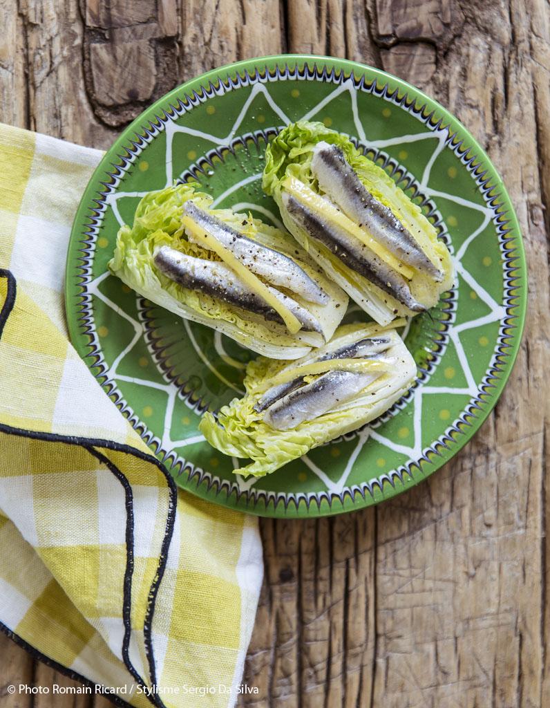 pintxos sucrine anchois