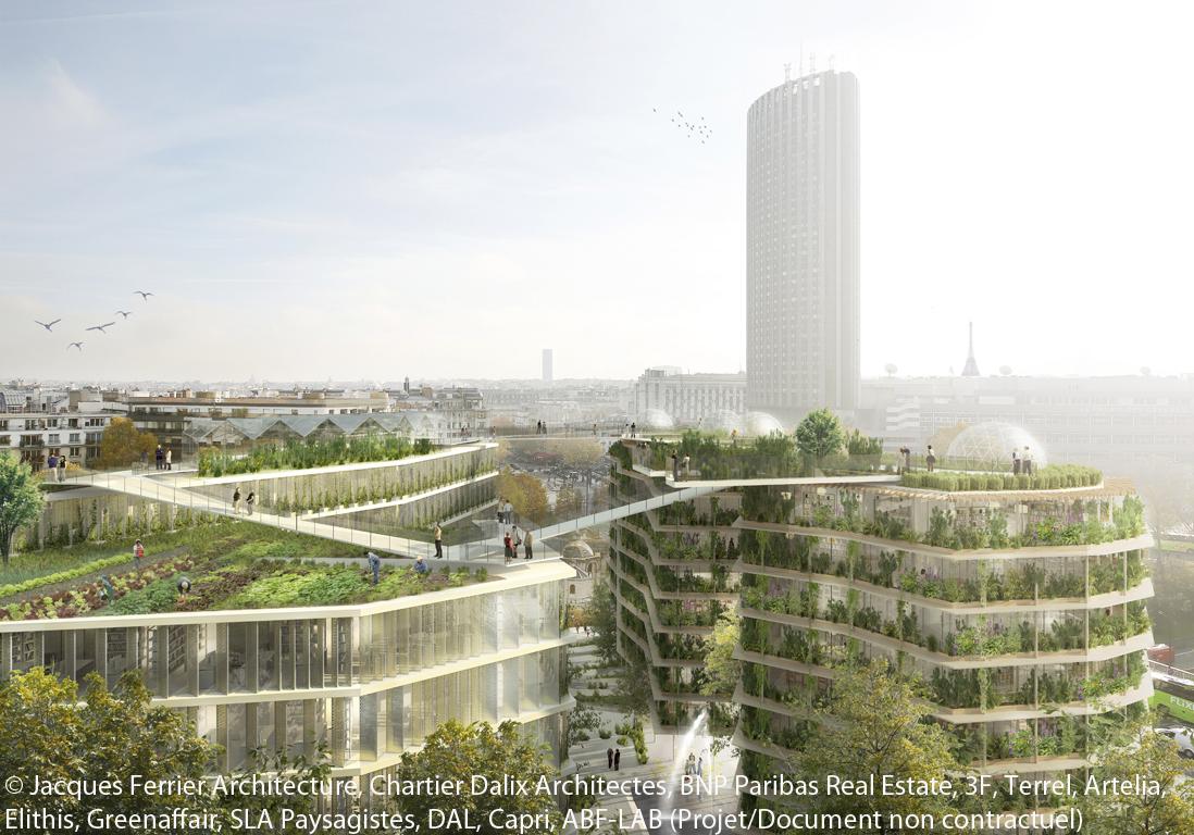 nature paris 4 projets d 39 architecture fous elle