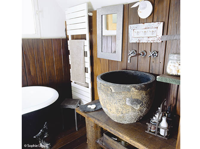 Salle De Bain Style Bord De Mer