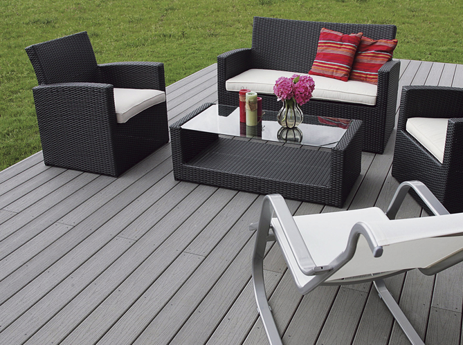 toutes nos id es d co pour la terrasse elle d coration. Black Bedroom Furniture Sets. Home Design Ideas