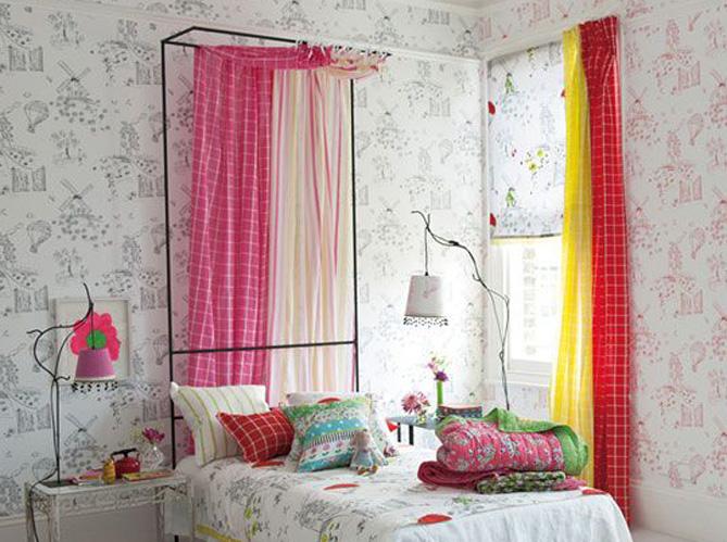Quel rideau pour une chambre d enfant elle d coration - Rideau decoration maison ...