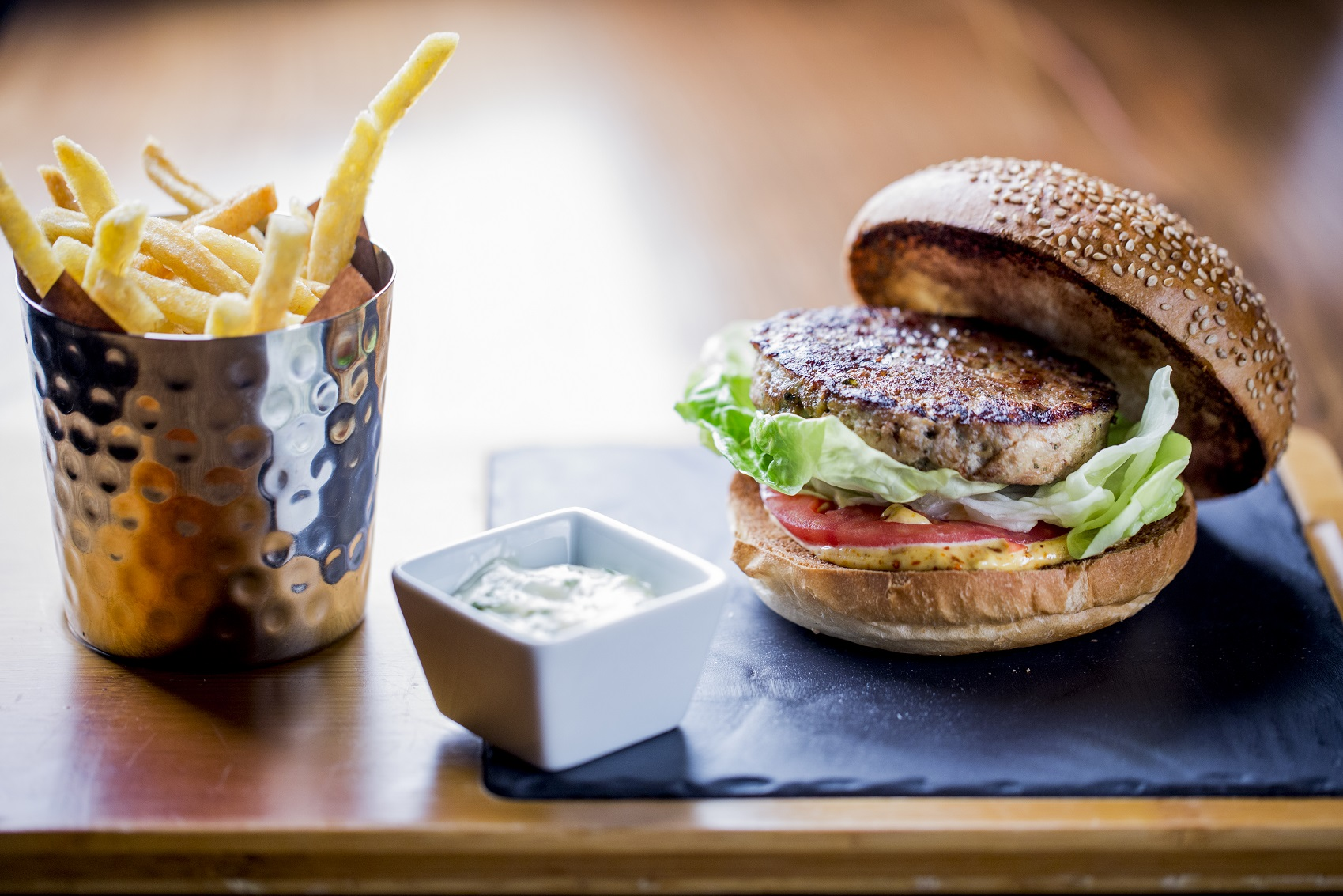 ®pierremonetta Burger de Poulet Thai - Buddha-Bar Hotel Paris ok