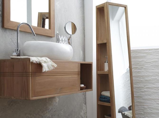 Rangements ultra pratiques pour une petite salle de bains for Petit meuble pour petite salle de bain