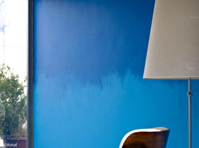 tendance peindre son mur en tie and dye elle d coration. Black Bedroom Furniture Sets. Home Design Ideas