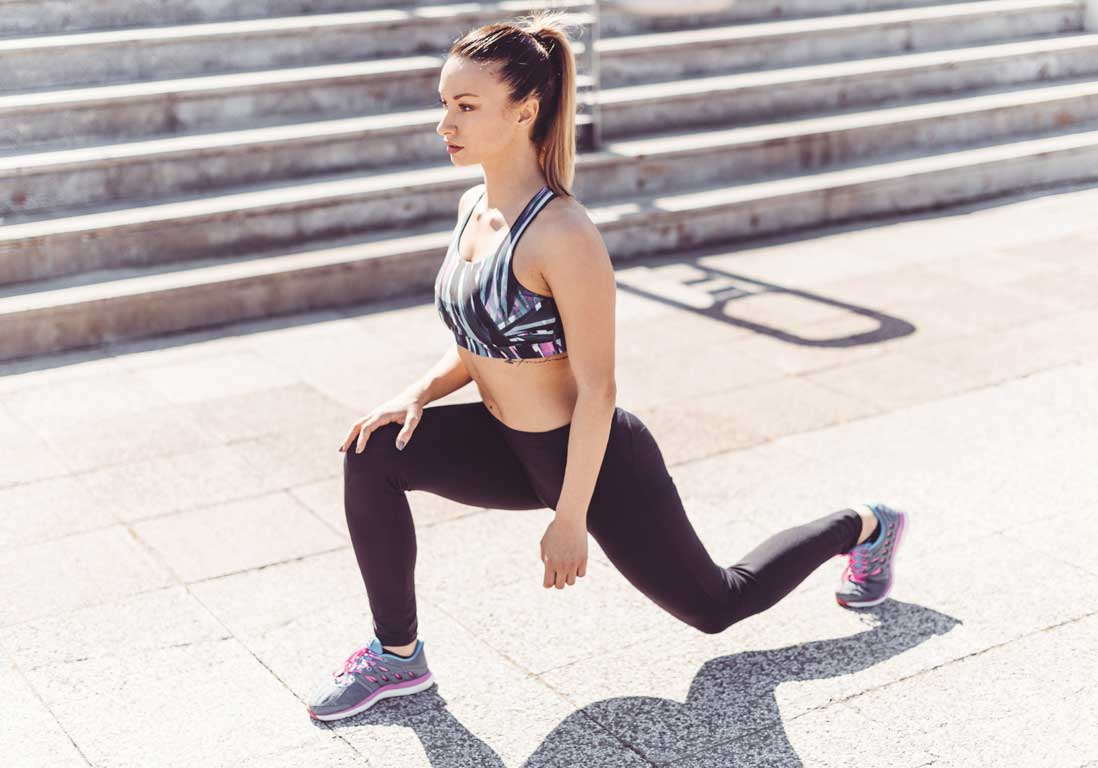 Remise-en-forme-squat-fentes