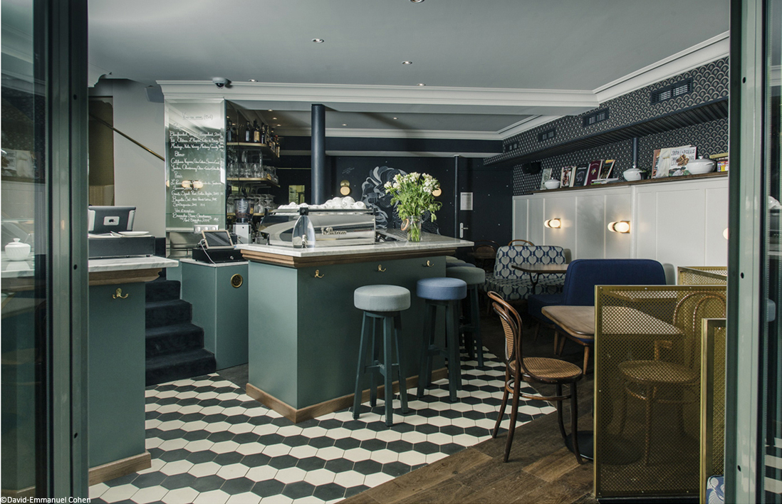 D couvrez 11 adresses parisiennes branch es elle d coration for Decoration terrasse restaurant