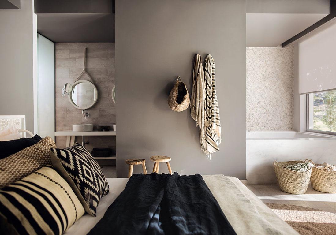 Nos astuces tr s simples pour transformer votre chambre en suite d 39 h tel elle d coration for Salle de bain hotel