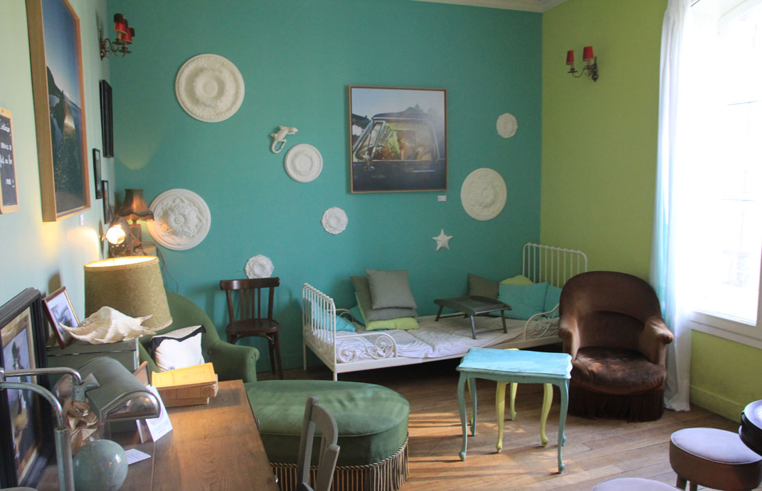 le pavillon des canaux une decoration comme a la maison - Salon Bleu Vintage