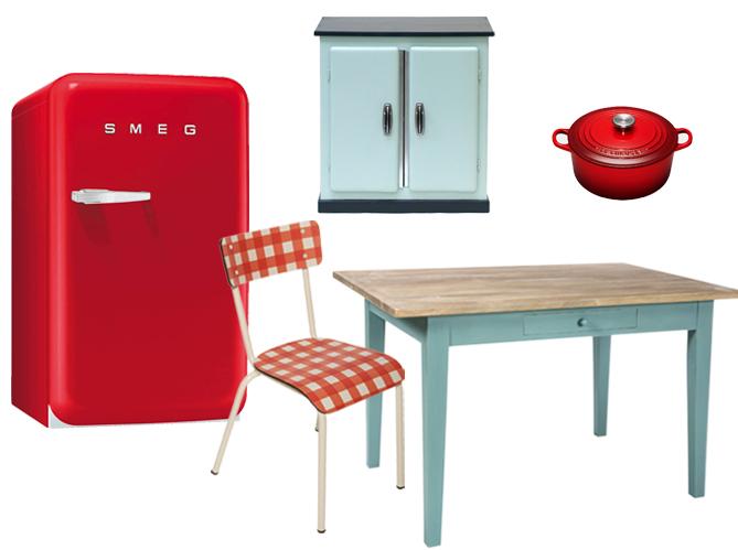 Le succ s des cuisines vintages elle d coration - Deco cuisine retro campagne ...