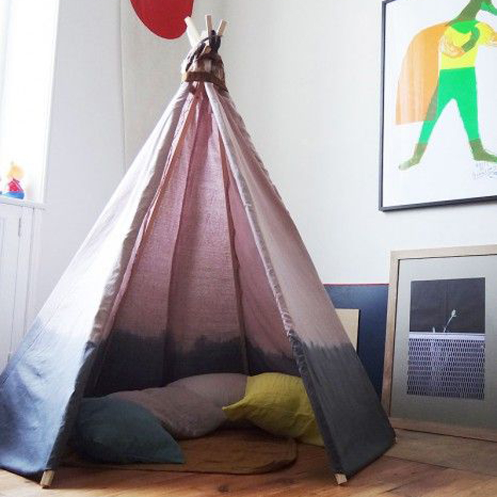 Idee chambre hippie - Tipi pour chambre ...
