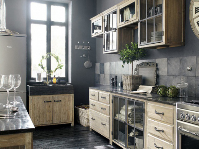 tous les secrets d 39 une d co de campagne moderne elle d coration. Black Bedroom Furniture Sets. Home Design Ideas